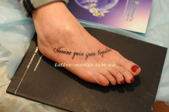 Сделать Татуировку  на ноге в Киеве - https://www.tattoo-master.com.ua